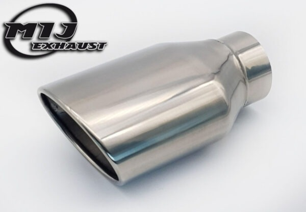 OVal exhaust Tail pipe Stainless steel mij exhaust